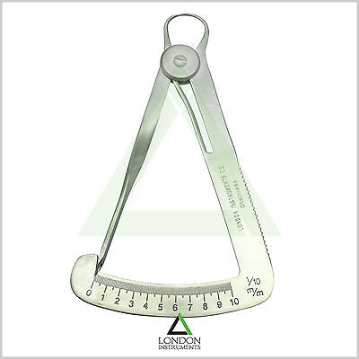 Lawson Tenth Dental Iwanson Wax Gauge Measuring Diamond Caliper Gauges Lab