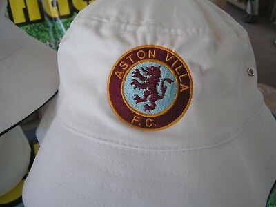 ASTON VILLA OLD ScHOOL BUCKET HAT.... - £10.00  e8c09e3ccb7