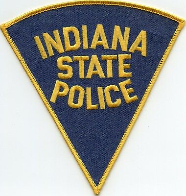 INDIANA IN STATE POLICE Highway Patrol Trooper POLICE PATCH
