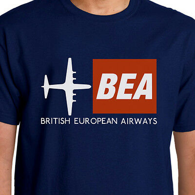 Aeroclassic Retro BEA Airways inspired T-Shirt