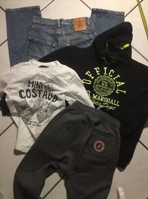 Lot Garcon 8 Ans Bas  Sweet Pants Authentique Jean Replay Us Marshall Catimini