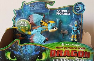 How to Train Your Dragon & Viking The Hidden World Astrid & Stormfly