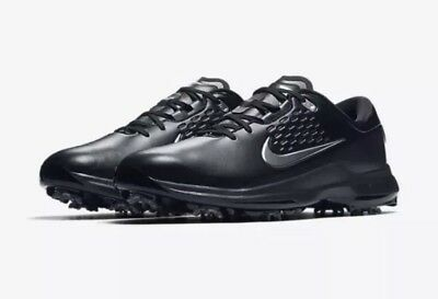 b333ecd93717b Nike Air Zoom TW71 Spiked Golf Shoes Black Tiger Woods 10.5 AA1990 002  Spikes