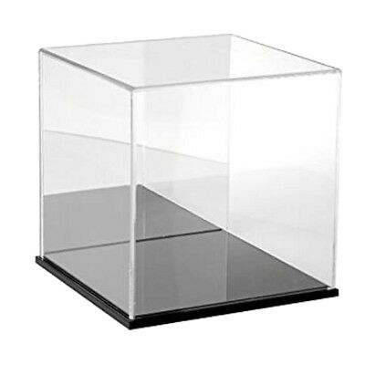 Acrylic Display Case Show Box Dustproof Protection 8cm for Doll Figure Toys