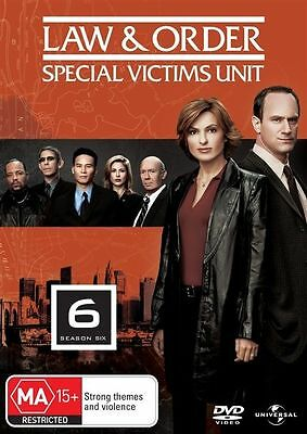 Law And Order SVU - Special Victims Unit : Season 6 : very good condition  DVD