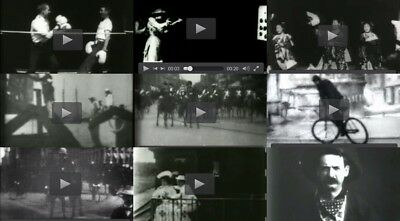 Edison Motion Pictures Collection old films old videos bw film 1891-1922