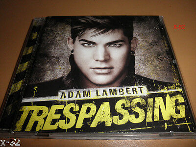 ADAM LAMBERT deluxe CD trespassing NILE RODGERS sam sparre BETTER THAN I KNOW MY