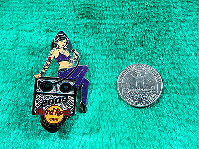 Hard Rock Cafe New York Tattoo Rock Chic Limited Edition 1 of 300 Pin