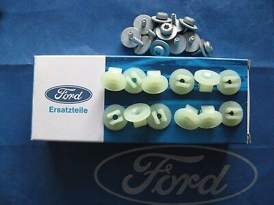 Brand new genuine Ford Escort Cosworth side skirt fitting screws - 24 number