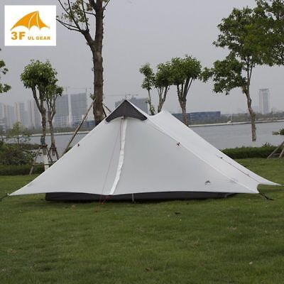 b656989f007b LANSHAN 2 3F UL GEAR 2 Person Oudoor Ultralight Camping Tent ...