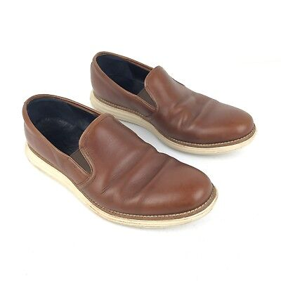 b23015d1c5d Cole Haan Lunargrand Two Gore Slip On Loafers Mens Shoes Leather Chestnut  8.5M