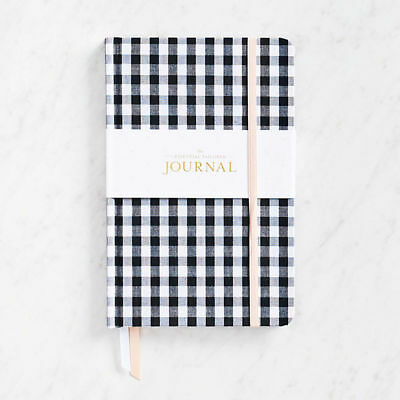 Sugar Paper Essential Journal, Black And White Gingham