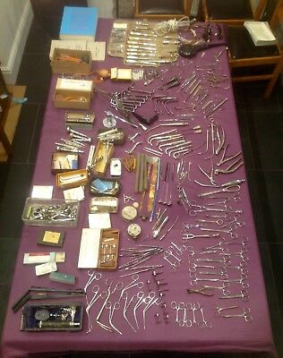 Vintage Medical Instruments, Surgical Equipment, Collectable Medical Instruments