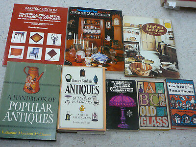 Lot 8 Antiques - Handbook Collecting Glass Kitchen