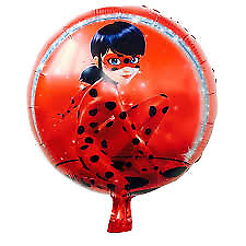 1pcs 45*45cm Miraculous Ladybug balloons birthday party decoration film balloons