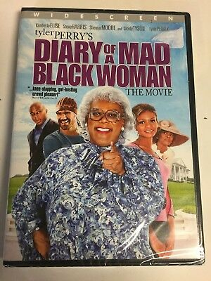 Diary of a Mad Black Woman (DVD,2005,Widescreen) Brand New Factory Sealed!