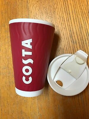 Costa Coffee Ripple Travel Mug Cup Insulated Thermal