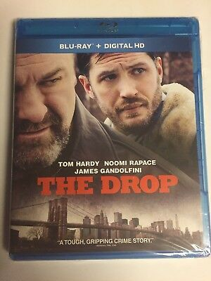The Drop (Blu-ray Disc, 2015) Tom Hardy, Brand New Sealed! No Code