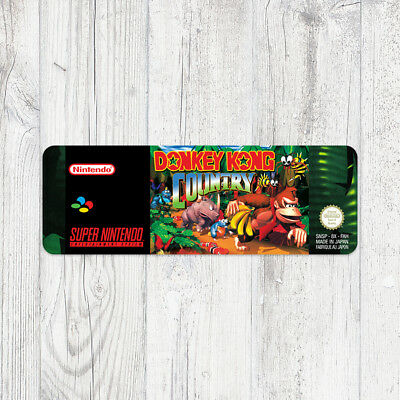Étiquette SNES / Sticker : Donkey Kong Country