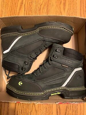 94f0231aefe WOLVERINE MENS OVERMAN Waterproof Composite Toe Work Boots W10484 ...