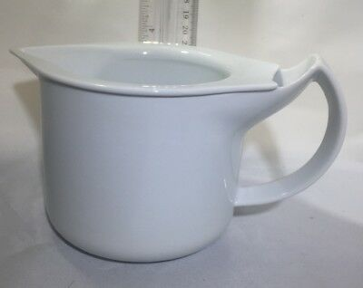 BMF NORNBERG GERMANY Gravy Boat Small Pitcher Double Wall Porcelain Insulated