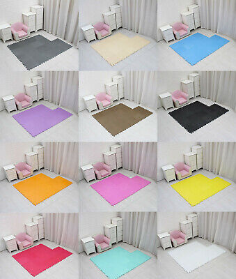 Baby Crawling Puzzle Eva Foam Kids Soft Mat Play Carpet Floor Home Blanket 30cm