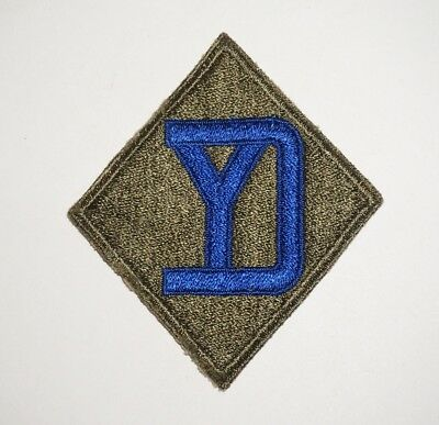 26th Infantry Division Patch WWII US Army P8295