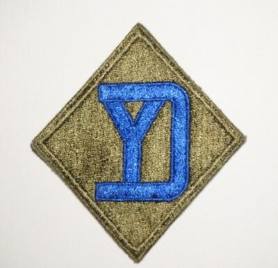26th Infantry Division Patch WWII US Army P8296