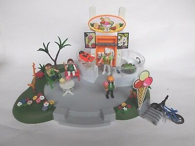 PLAYMOBIL Eiscafe aus Set 4134 Superset Eisdiele