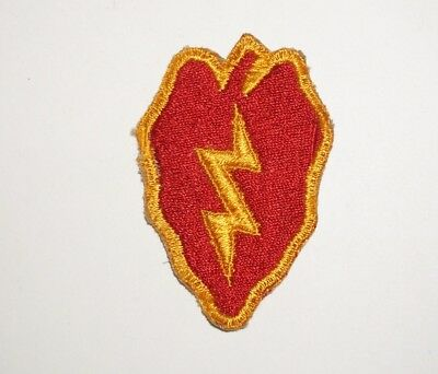 25th Infantry Division Patch WWII US Army P8299