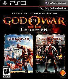 God of War Collection PS3 - BRAND NEW (Factory Sealed)