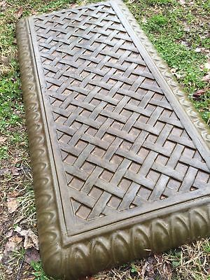 "Concrete Bench mold Basket Weave Bench top mould plastic ABS 32"" bench"