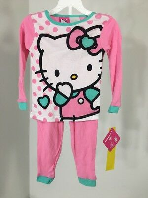 7241312bc HELLO KITTY GIRL'S Pants Top Size 2T Toddler Black Pink Tutu ...