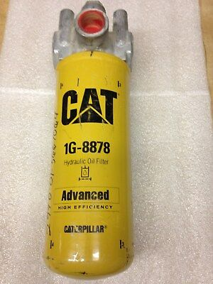 NOS CATERPILLAR CAT Hydraulic Filter and Filter Head p/n 1G-8878