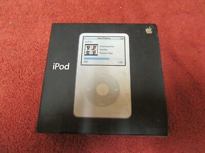 Apple Ipod Video Classic BOX ONLY 30gb 5th Generation MAOO2LL/A MODEL A1136