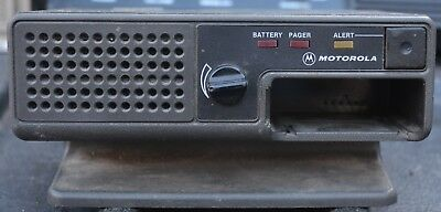Motorola Minitor II Fire Pager Amplified Base NRN4985A