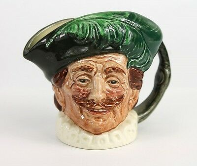 Neat Vintage Royal Doulton MINT CONDITION Pottery Cavalier D6173 Character Jug