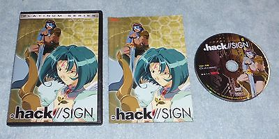 Anime: .Hack//Sign platinum series ver.02 Outcast dvd episodes 6-10 free ship