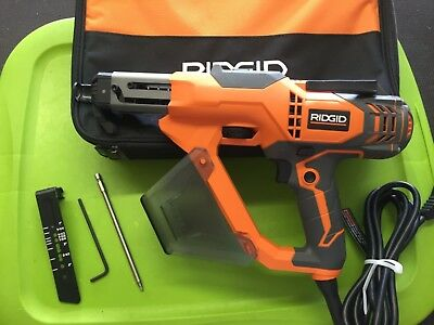 Ridgid 3 in. Drywall and Deck Collated Screwdriver R6791. Dated 2017