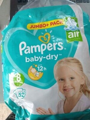 Pampers size 8 (5) and Pampers Pants XXL(5)