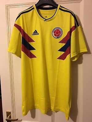 Columbia Home Football Shirt BNWT Adidas Climalite Jersey
