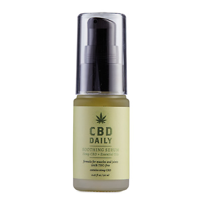 CBD Daily Soothing Serum Concentrated Hemp Oil Joint Muscle Pain Relief .67 Oz