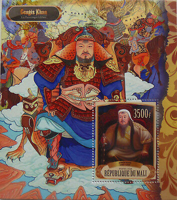 Genghis Khan / Famous people Gengis Chan 2018 s/s MNH #VG2535