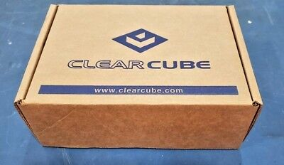 Clear Cube CD9924 Dual Copper Zero Client w/ 6 USB Ports /Integrated CAC reader