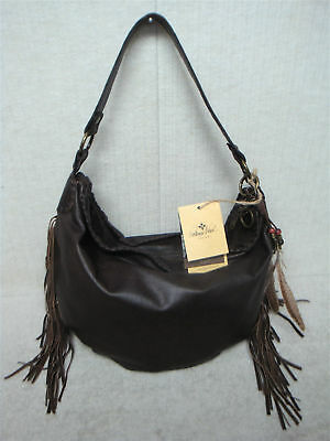 c51be98a2f4b PATRICIA NASH - VINCENZO - P02284 - Brown CHOCOLATE Leather - Slouchy Hobo  Purse