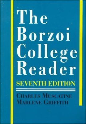 By charles muscatine the borzoi college reader: 7th (seventh.