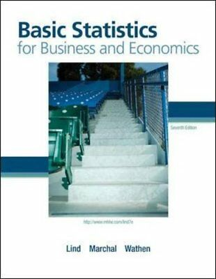 Basic Statistics For Business And Economics by Lind