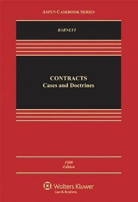 Contracts Cases And Doctrines by Randy E Barnett