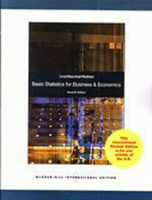 Basic Statistics For Business And Economics  by Douglas Lind