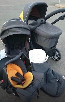 Graco Evo XT Travel System Used with extras